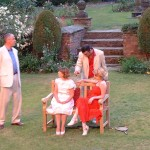 "Lucy in ""Woman In Mind"" - Gawsworth Hall Open Air Theatre (with Jane Goddard, Arthur Bostrom & Paul Oliver)"