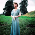 "Daphne Stillington in ""Present Laughter"" - Gawsworth Hall Open Air Theatre"