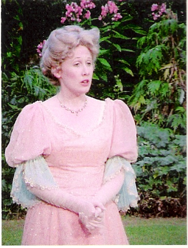 "Hester in ""A Woman of No Importance"" - Gawsworth Hall Open Air Theatre"