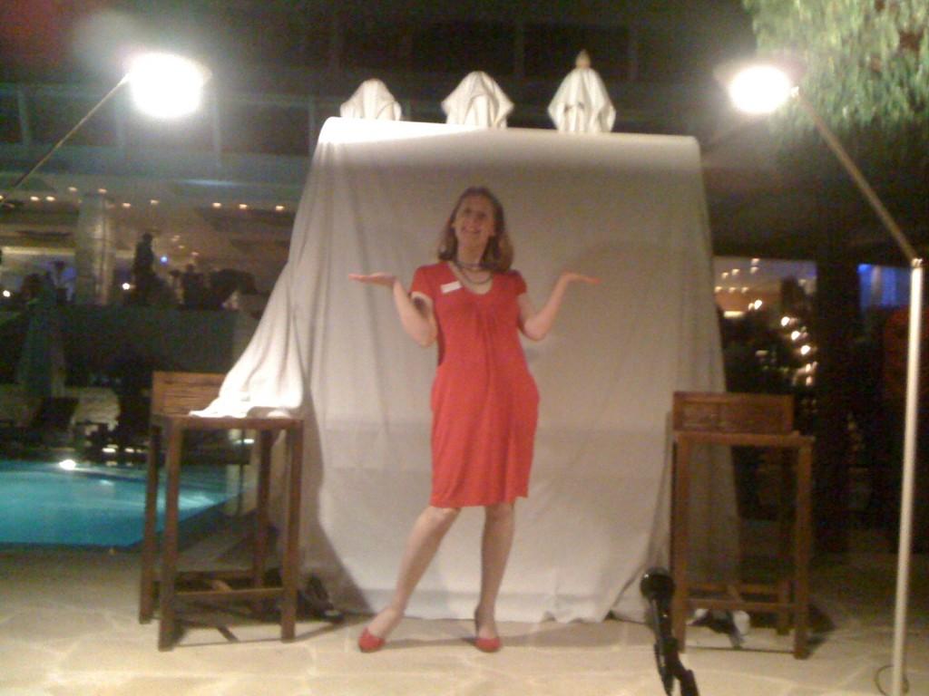 Domestic Goddi - Comedy Gig at The Londa Hotel, Cyprus