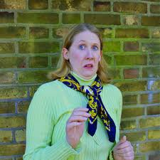 "Marion in ""Marion Allen's Number One Hobby"" - Canal Cafe Theatre London, Pleasance Courtyard Edinburgh Festival"