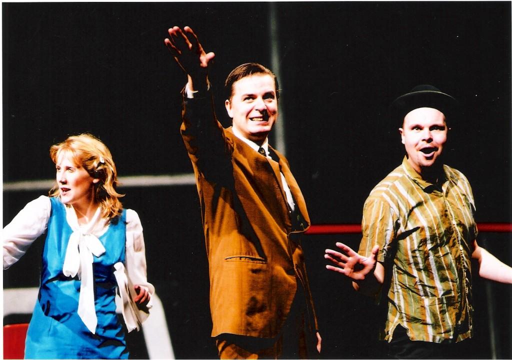 "DC Fontana in ""I Am Star Trek"" - Shaw Theatre London (with Jonathan Hansler & Phillip Lawrence)"