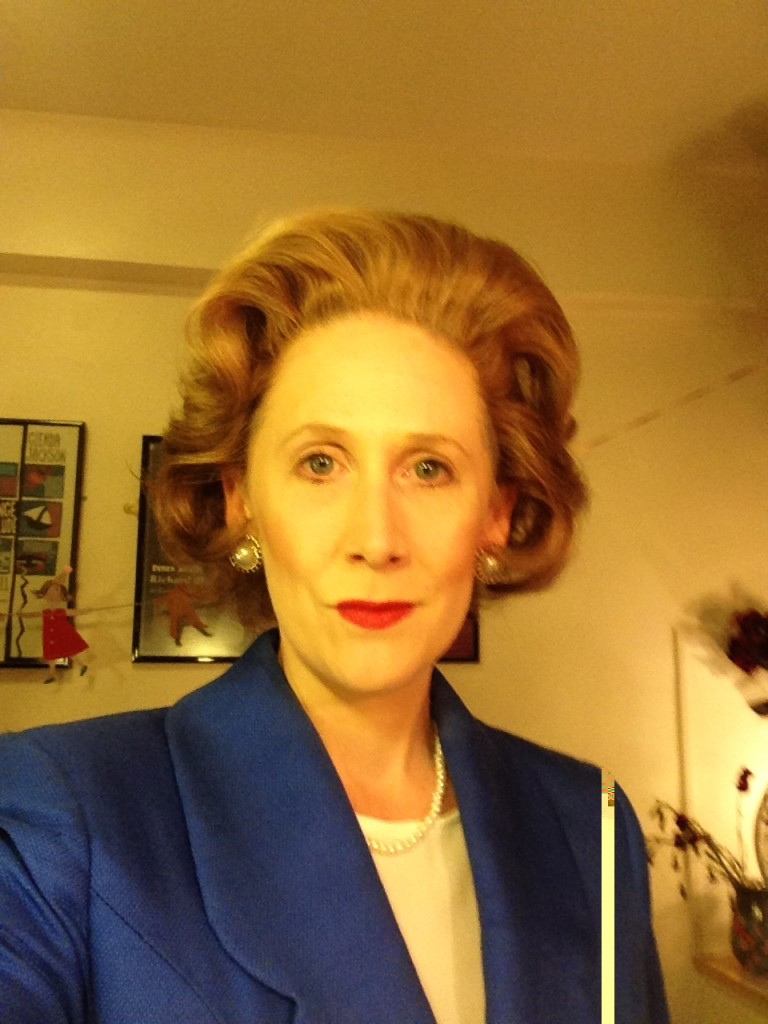 Understudy Run playing Mags in Handbagged at the Vaudeville Theatre, West End